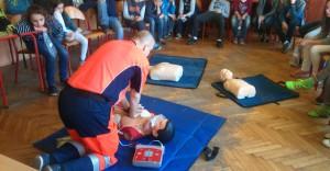 AED w użyciu